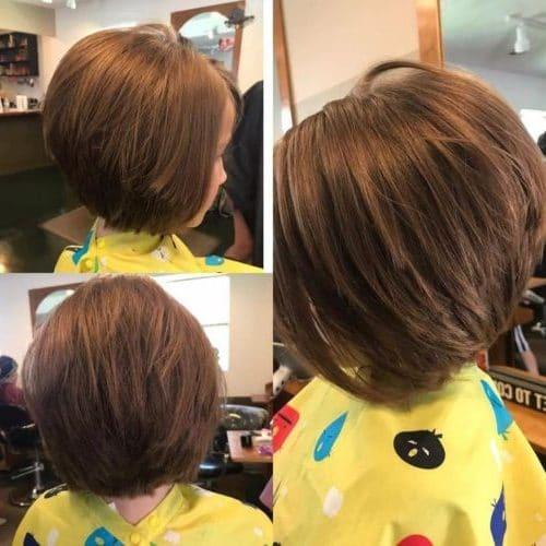medium hair cut for girls