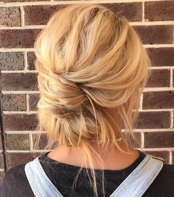 medium length messy hairstyles girls