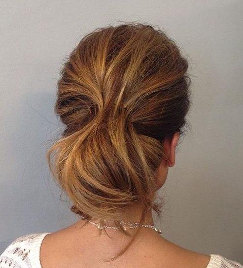 ponytail slicked back hairstyles female