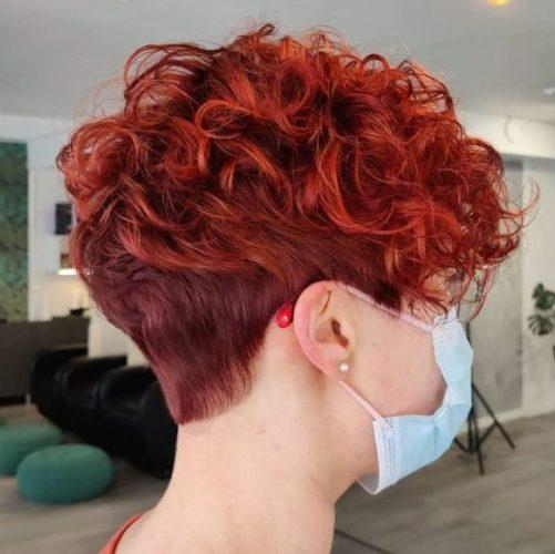 short curly hair pinterest