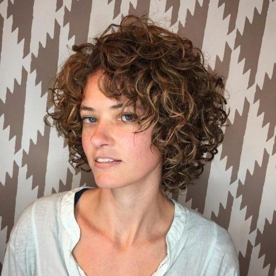 short curly natural
