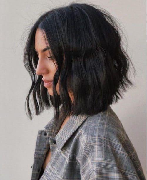 short haircuts thick coarse hair