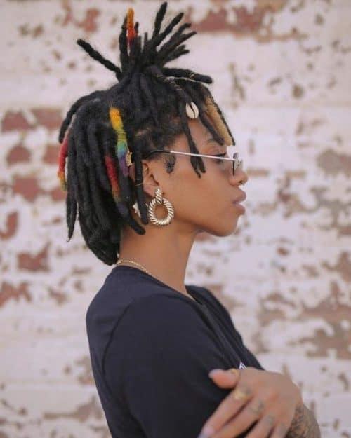 short natural haircuts for black females