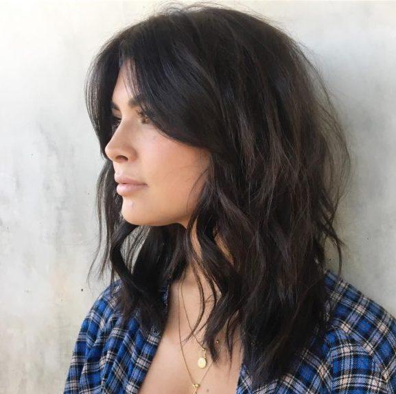 shoulder length hair