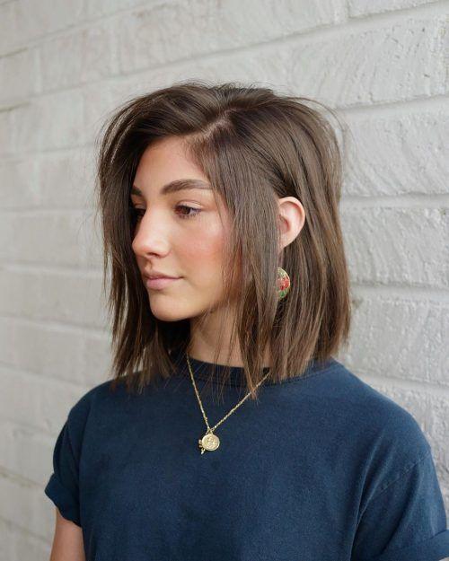 shoulder length haircuts