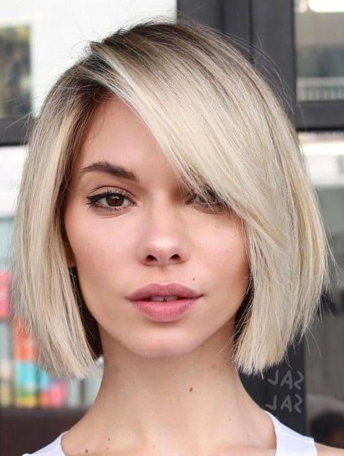 shoulder length short hair styles