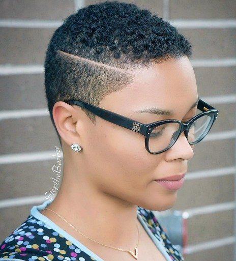 Black short hairstyles 2018