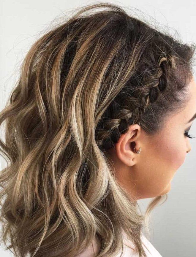 Braids hairstyles for short hair