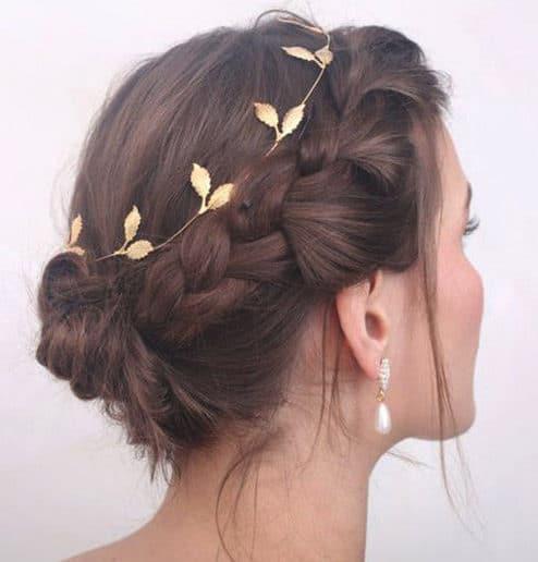 Easy braid for short hair
