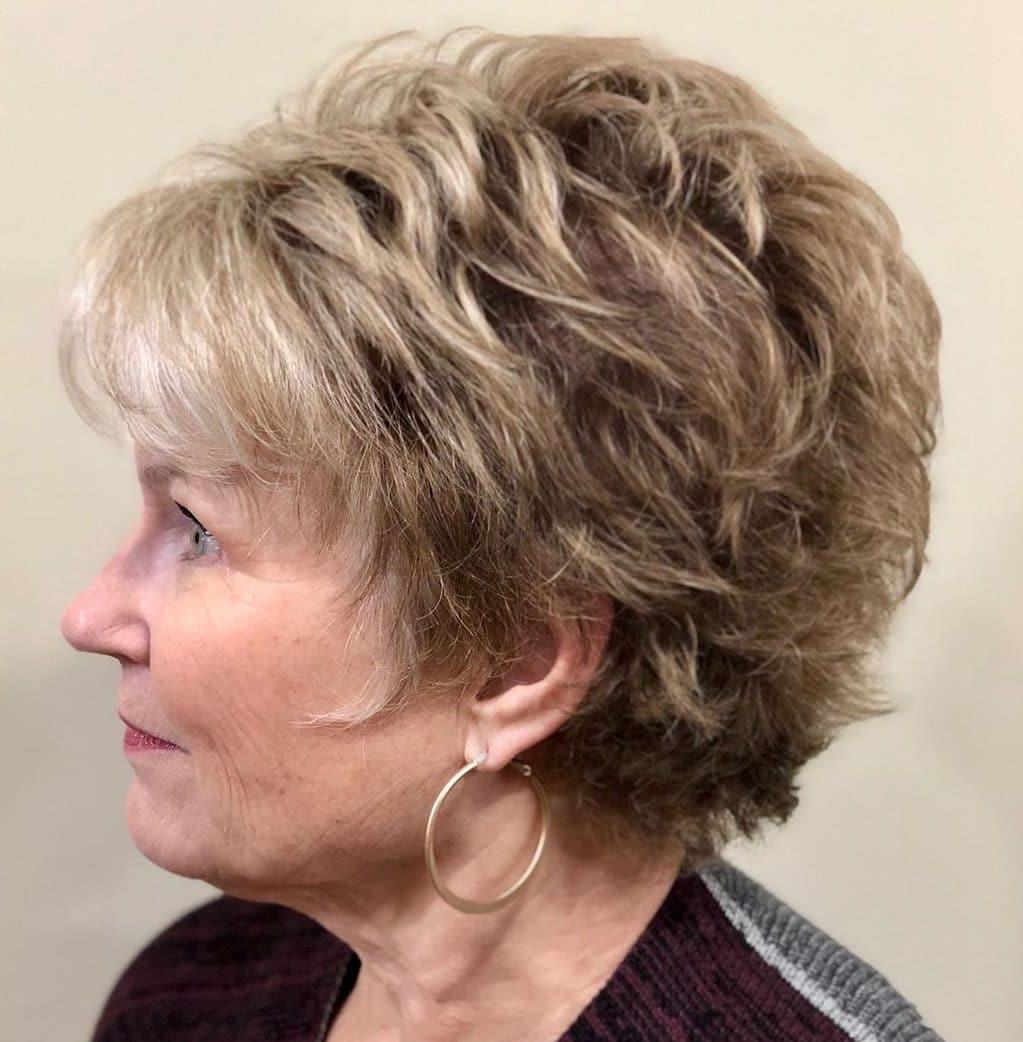 Fine hair short hairstyles for older women