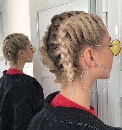 30 Best French Braid Short Hair Ideas 2019