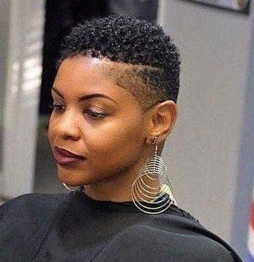 Short natural haircuts for black females 2019