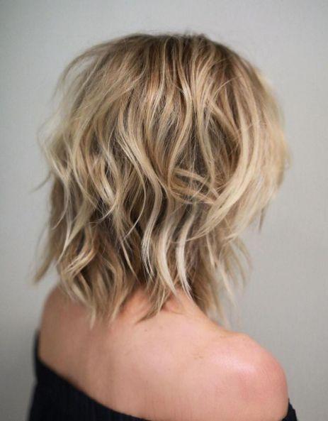 Shoulder shaggy haircuts