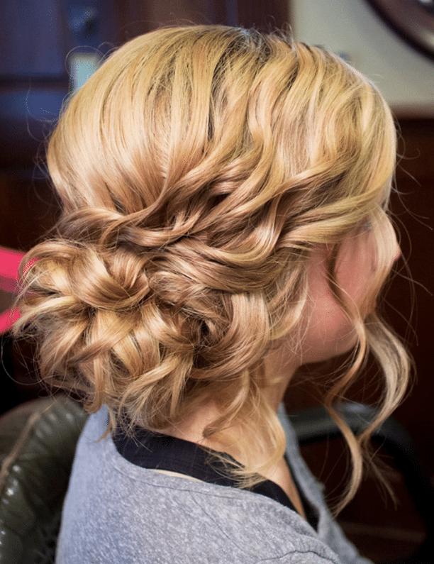 Side bun hairstyles for medium hair