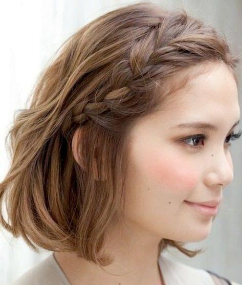 Step by step braids for short hair