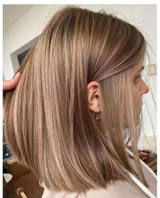 brown caramel brown hair color for short hair