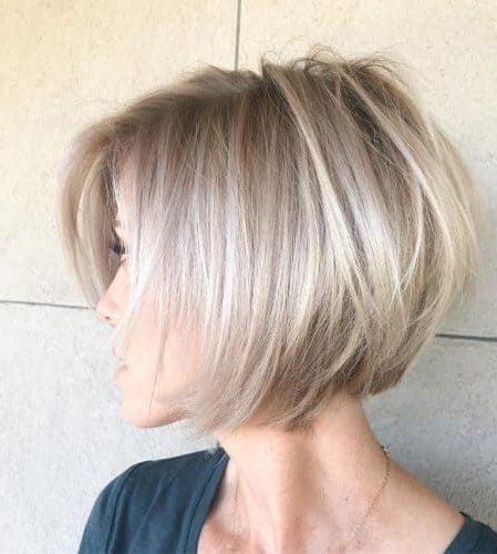 medium layered bob hairstyles