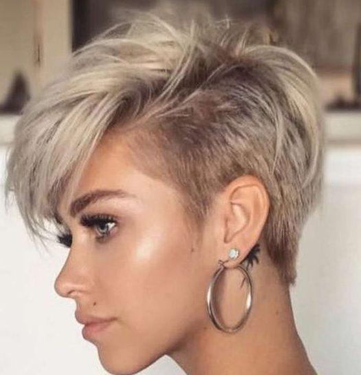 pixie tomboy short haircuts