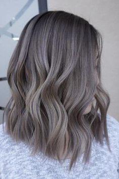 wavy long bob haircut