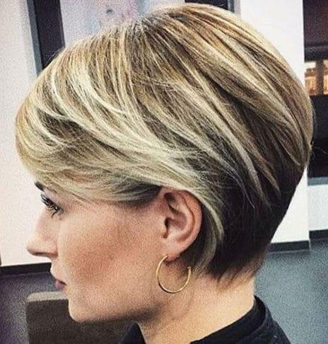 Fine hair short haircuts for older women