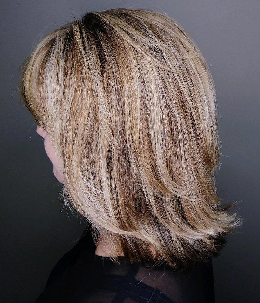 Layered Haircuts for Older Women 2021 | Short Hair Models