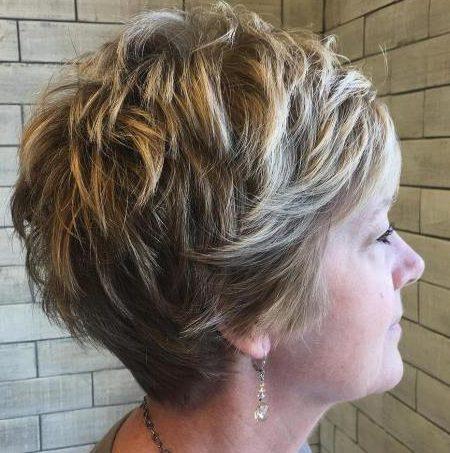 Layered short hairstyles 50