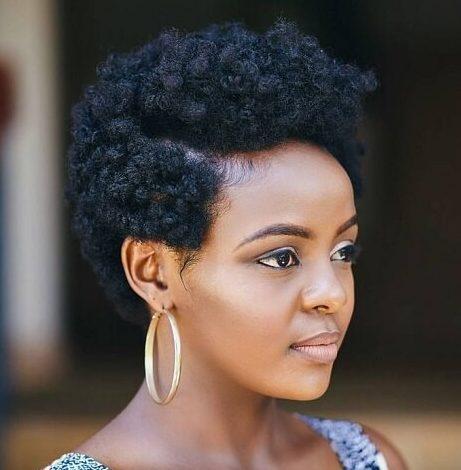Short hair for black ladies