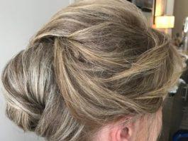 Wedding hairstyles for older brides