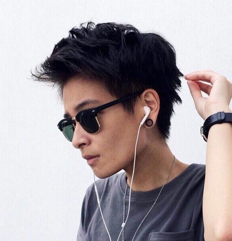Androgynous tomboy haircuts