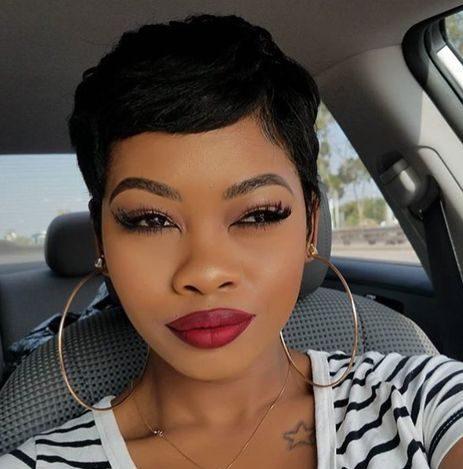 Black short hairstyles 2021