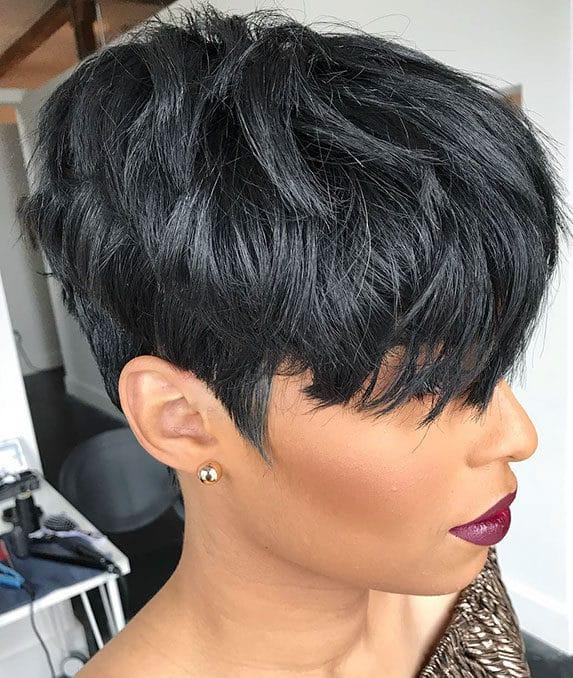 Short black hairstyles 2021