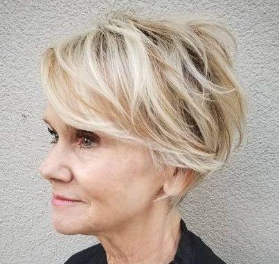 Thin hair pixie haircuts for fine hair over 60