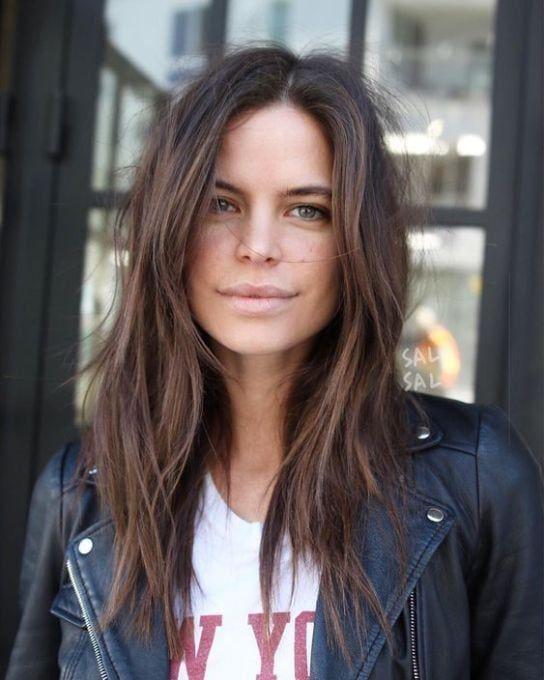 medium length brown hairstyles