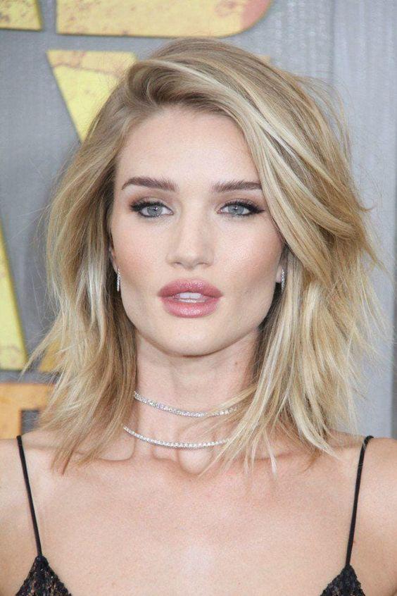 medium length celebrity hairstyles
