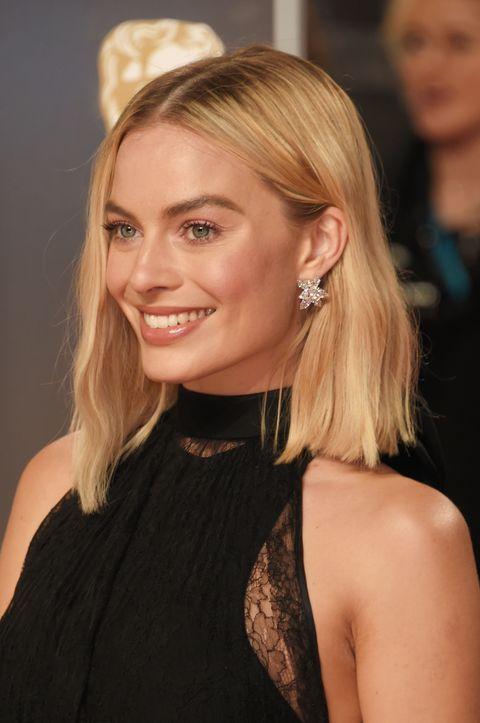 shoulder length celebrities with short hair