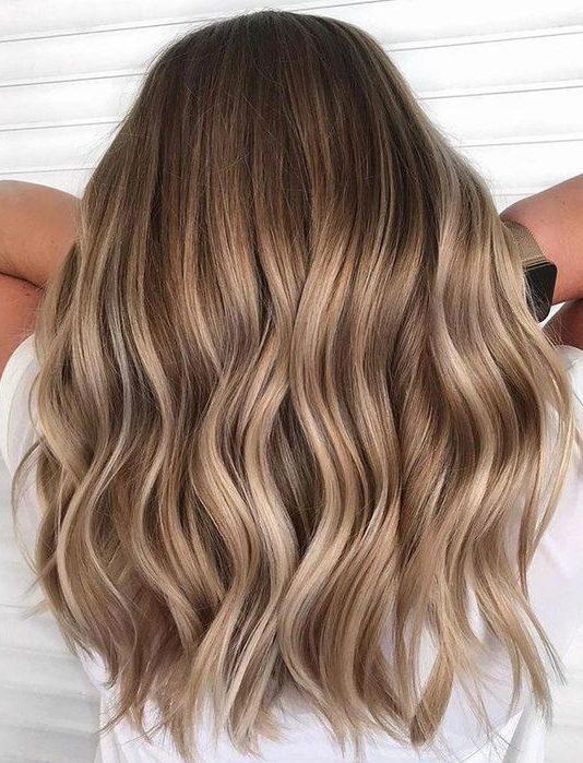 Light Brunette Balayage Hair