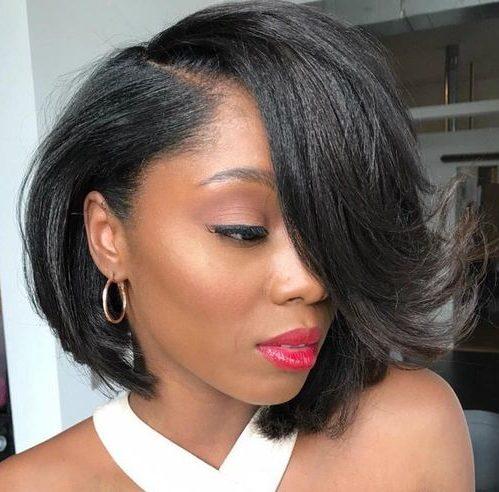Black hair bob hairstyles
