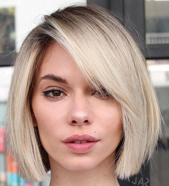Fine hair short bob haircuts 2021