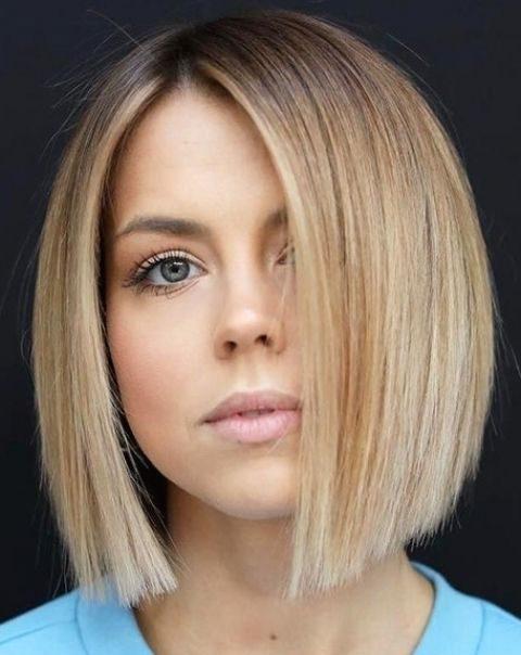 Fine hair short bob haircuts