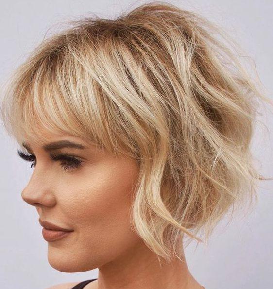 Low maintenance bob hairstyles 2021