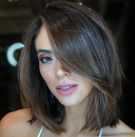 Medium length bob haircut 2021