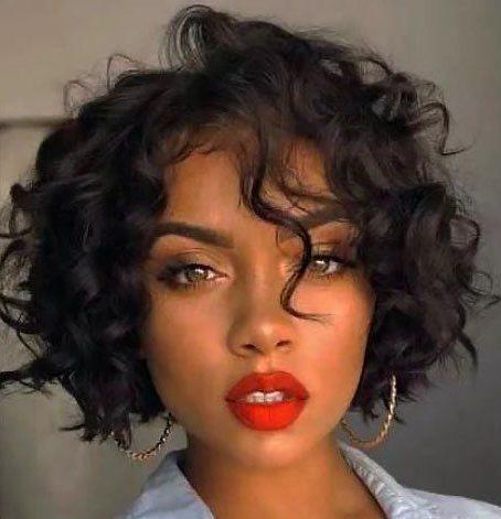 Short bob cuts for black women