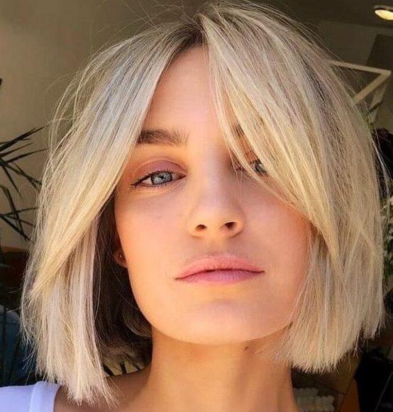 Short hair bob cut 2021